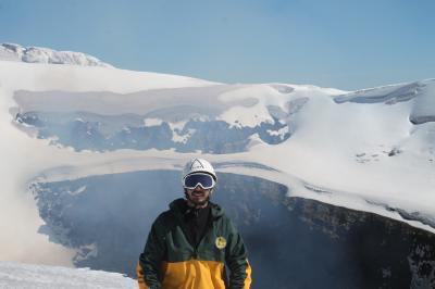 Cumbre Volcán Villarica